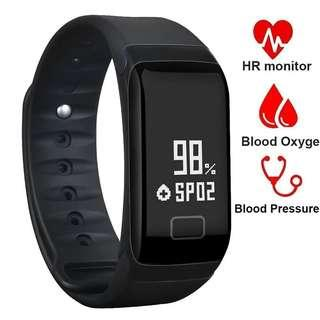 🚚 🆕🆒 Smart Bracelet IP67 Blood Pressure Heart Rate Monitor Activity Fitness Tracker Pedometer for Andriod IOS