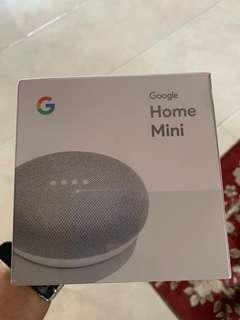 🚚 Google Home Mini - Chalk color