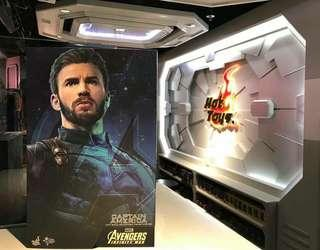 Hottoys MMS 480 Captain America 美國隊長 普通版