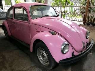 Volkswagen Beetle 1968 Pink (updated info)