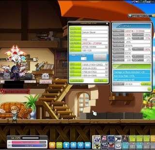 MapleStory MapleSEA Aquila Account