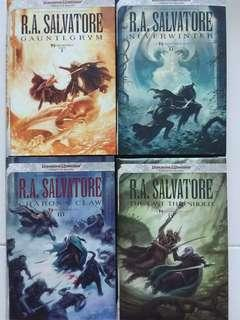 🚚 Dungeons & dragons Forgotten relms series