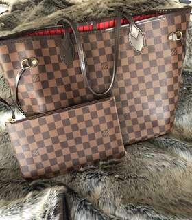 Louis Vuitton Neverful MM in DE