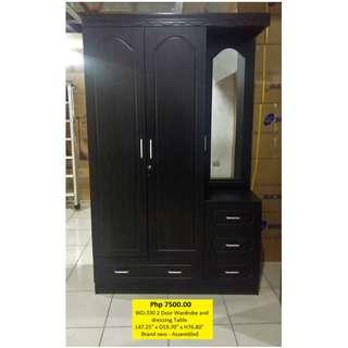 cabinet with dressing mirror