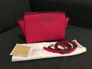 MICHAEL KORS SELMA MESSANGER SMALL 1000000% AUTHENTIC