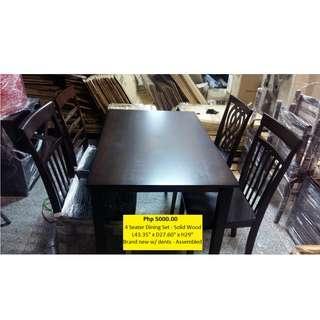 Dining Set ( deffirent design of chair )