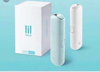 韓國 lil mini solid iqos white mint