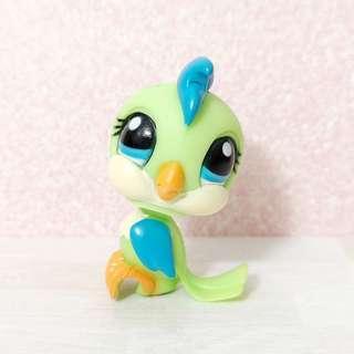 🚚 Littlest pet shop lps RARE blythe parrot perfect condition