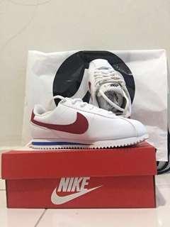 Nike Cortez White/Red UK4 US4.5