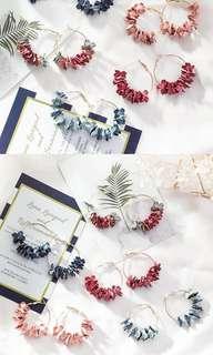 🚚 Flower Flutter Earrings