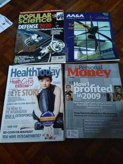 Science, Airlines, Health & Money