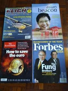 Forbes, The Economist, Asian Beacon & Flight