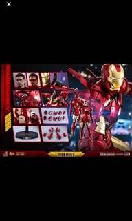 MIsb hot toys iron man mark 4 diecast