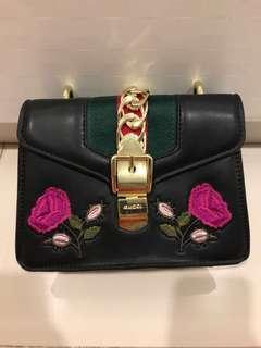 Inspired Flower chain/sling bag