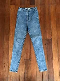 Abercrombie & Fitch High Waist Jeans