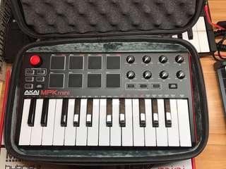 Akai MPK mini mk2 midi keyboard 鍵盤