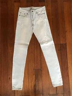 Forever21 White Jeans (Never Been Used)