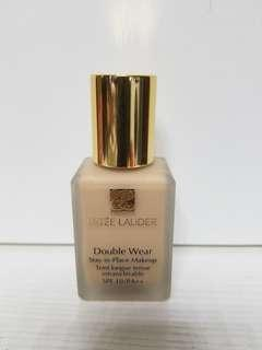 Estee Lauder double wear stay-in-place makeup spf10pa++ 1w2 sand 7成新
