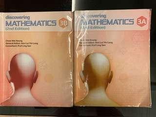 Discovering Mathematics 3A 3B