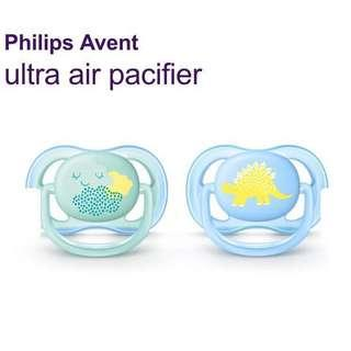 BN Brand-New Philips Avent Pacifier Ultra Air Blue