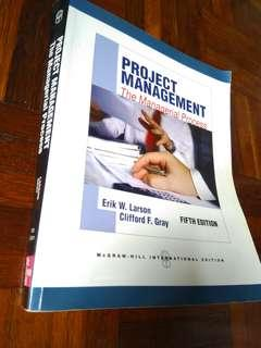 Project Management: Managerial Process