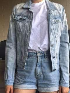 Nique fitted denim jacket