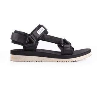 Celtic Black Sandals