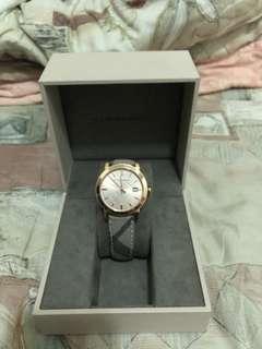 🚚 9.5成新)Burberry BU9040 39mm 精品手錶