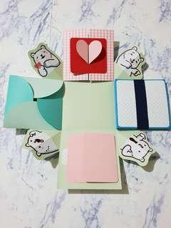 🚚 白白日記-爆炸卡片禮物盒