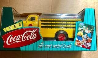 Coca Cola 可口可樂 合金貨車錢箱