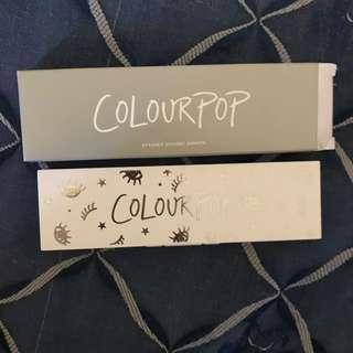 Colourpop no limit eyeshadow pressed powder pallete ☺️