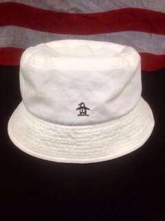 Vintage 90's Munsingwear Penguin Bucket hat cap Athlete Sports Streetwear