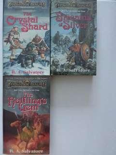 🚚 Forgotten relms Icewind Dale trilogy books 1,2,3