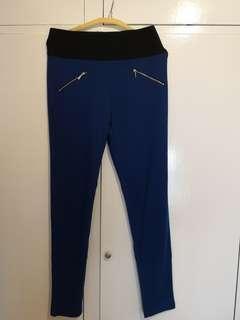 Forever 21 blue leggings size L #swapAU