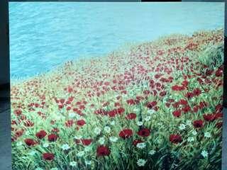 Canvas print 125 x 100 cm