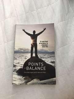 Self-help points of balance by chris barrington and dr mansukh patel