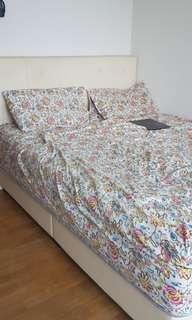 🚚 Queen bed and mattress