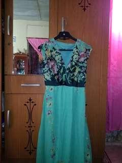 Long dress Overall Flower