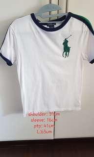 🚚 Authentic polo Ralph Lauren round neck tee