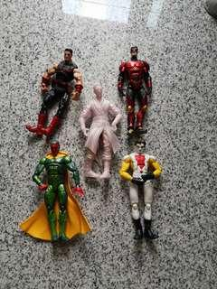 Marvel legends clear stock