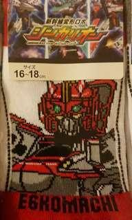 Shinkanlion socks 新幹線戰士襪-E6