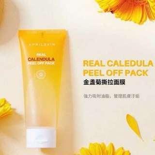 April Skin Real Calendula Peel Off Mask❌不議價