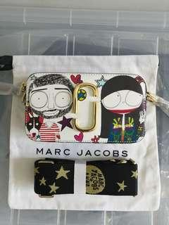 Authentic Marc Jacobs x Anna Sui snapshot camera bag