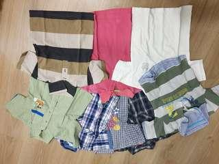 Boy shirts (9 for rm30)