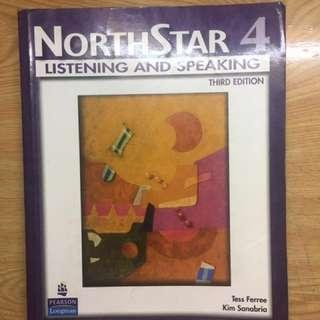 NORTHSTAR 4  LISTEN AND SPEAKING  #我要賣課本 #英文原文書