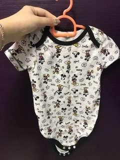 🚚 Disney brand mickey baby boy girl romper