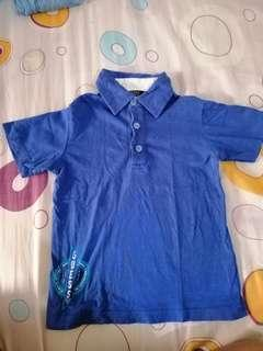 Long sleeves polo and polo shirt for boys kids