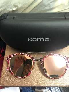 KOMO Sunglasses with case