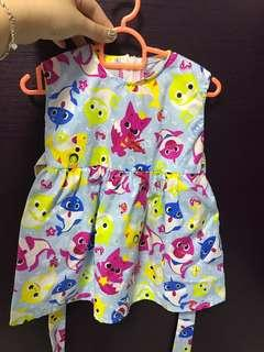 Baby shark pinkfong dress