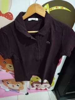 Tshirt women lacoste brown